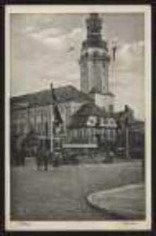 Ohlau - Rathhaus [Dokument ikonograficzny]
