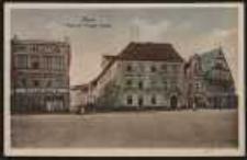 Ohlau – Ring mit Brieger Straße [Dokument ikonograficzny]