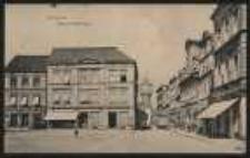 Ohlau – Ring mit Poststrasse [Dokument ikonograficzny]