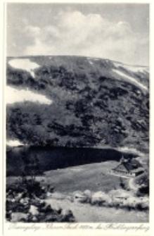 Riesengebirge Kleiner Teich 1188 m bei Frühlingsanfang [Dokument ikonograficzny]