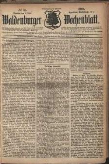 Waldenburger Wochenblatt, Jg. 28, 1882, nr 35