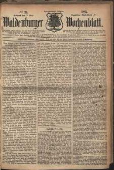 Waldenburger Wochenblatt, Jg. 28, 1882, nr 39