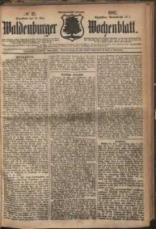 Waldenburger Wochenblatt, Jg. 28, 1882, nr 42