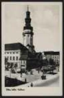 Ohlau – Schles. Rathaus [Dokument ikonograficzny]