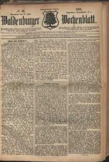 Waldenburger Wochenblatt, Jg. 28, 1882, nr 46