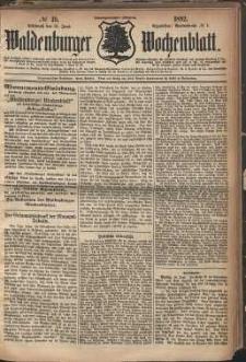 Waldenburger Wochenblatt, Jg. 28, 1882, nr 49
