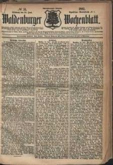 Waldenburger Wochenblatt, Jg. 28, 1882, nr 51
