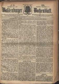 Waldenburger Wochenblatt, Jg. 28, 1882, nr 52