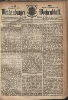 Waldenburger Wochenblatt, Jg. 28, 1882, nr 53