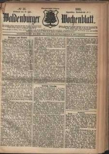 Waldenburger Wochenblatt, Jg. 28, 1882, nr 57