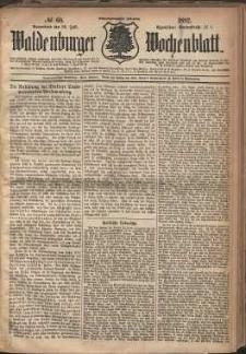 Waldenburger Wochenblatt, Jg. 28, 1882, nr 60