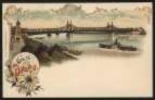 Gruss aus Ohlau - Oderbrücke [Dokument ikonograficzny]