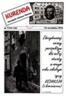 Kurenda : jeleniogórski informator oświatowy, 1993, nr 7 (50)
