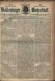 Waldenburger Wochenblatt, Jg. 28, 1882, nr 71