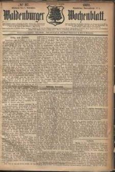 Waldenburger Wochenblatt, Jg. 28, 1882, nr 87