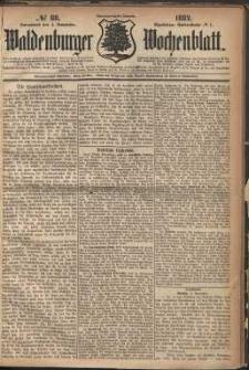 Waldenburger Wochenblatt, Jg. 28, 1882, nr 88