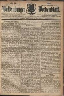 Waldenburger Wochenblatt, Jg. 28, 1882, nr 94