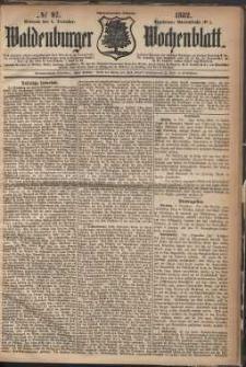 Waldenburger Wochenblatt, Jg. 28, 1882, nr 97