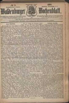 Waldenburger Wochenblatt, Jg. 29, 1883, nr 2
