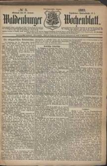 Waldenburger Wochenblatt, Jg. 29, 1883, nr 3