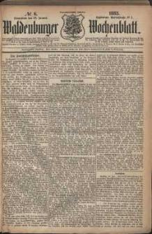 Waldenburger Wochenblatt, Jg. 29, 1883, nr 6