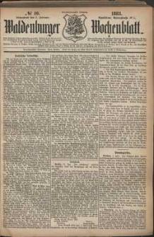 Waldenburger Wochenblatt, Jg. 29, 1883, nr 10