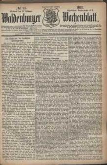 Waldenburger Wochenblatt, Jg. 29, 1883, nr 13