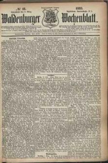 Waldenburger Wochenblatt, Jg. 29, 1883, nr 18