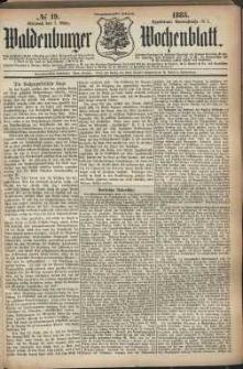 Waldenburger Wochenblatt, Jg. 29, 1883, nr 19