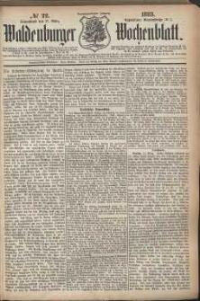 Waldenburger Wochenblatt, Jg. 29, 1883, nr 22