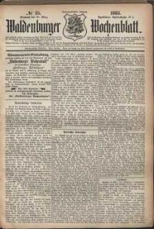 Waldenburger Wochenblatt, Jg. 29, 1883, nr 25