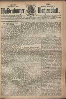 Waldenburger Wochenblatt, Jg. 29, 1883, nr 35