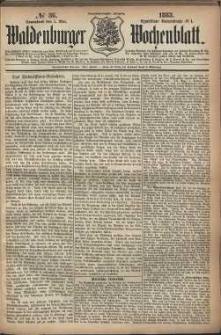 Waldenburger Wochenblatt, Jg. 29, 1883, nr 36