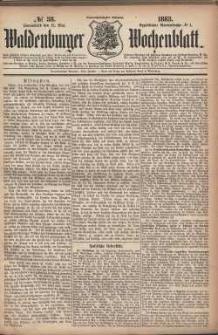 Waldenburger Wochenblatt, Jg. 29, 1883, nr 38