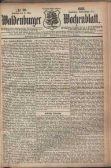Waldenburger Wochenblatt, Jg. 29, 1883, nr 39