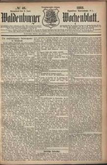 Waldenburger Wochenblatt, Jg. 29, 1883, nr 46