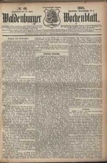 Waldenburger Wochenblatt, Jg. 29, 1883, nr 48