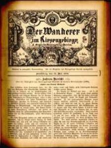 Der Wanderer im Riesengebirge, 1884, nr 31