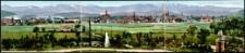 Panorama vom Riesengebirge mit Hirschberg [Dokument ikonograficzny]