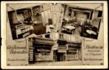 Cafè u. Restaurant. Hohenzollern. Hirschberg Schl. [Dokument ikonograficzny]