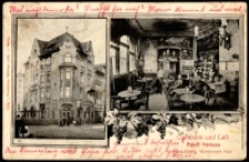 Conditorei und Cafè Adolf Hanusa [Dokument ikonograficzny]