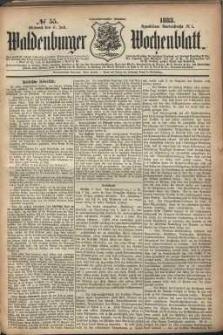 Waldenburger Wochenblatt, Jg. 29, 1883, nr 55