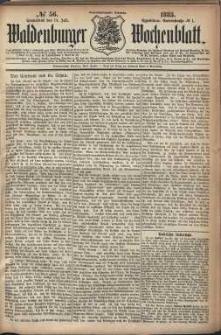 Waldenburger Wochenblatt, Jg. 29, 1883, nr 56