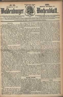 Waldenburger Wochenblatt, Jg. 29, 1883, nr 59