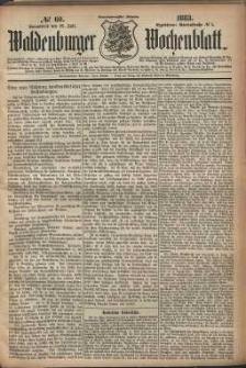 Waldenburger Wochenblatt, Jg. 29, 1883, nr 60