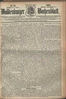 Waldenburger Wochenblatt, Jg. 29, 1883, nr 61