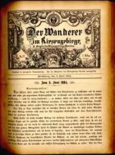 Der Wanderer im Riesengebirge, 1884, nr 32