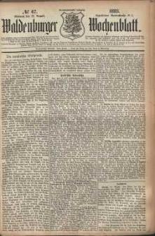 Waldenburger Wochenblatt, Jg. 29, 1883, nr 67
