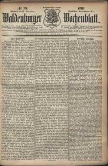 Waldenburger Wochenblatt, Jg. 29, 1883, nr 73