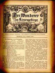 Der Wanderer im Riesengebirge, 1884, nr 33